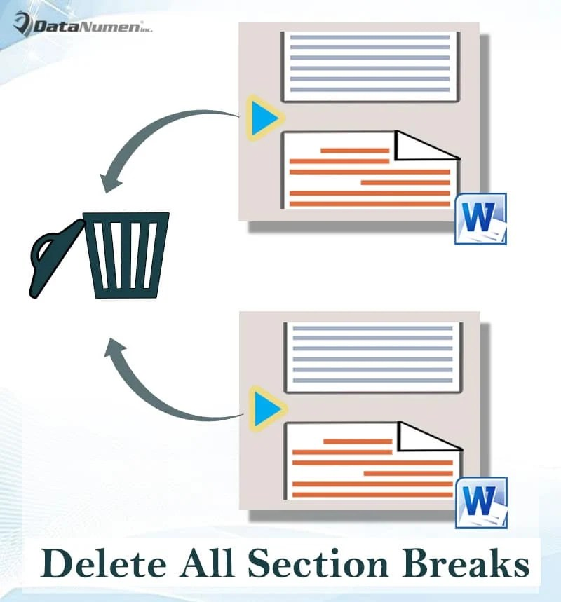Delete All Section Breaks in Your Word Document