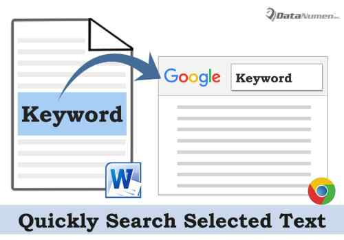 Search Selected Text on Google, Yahoo and Bing in Your Word Document