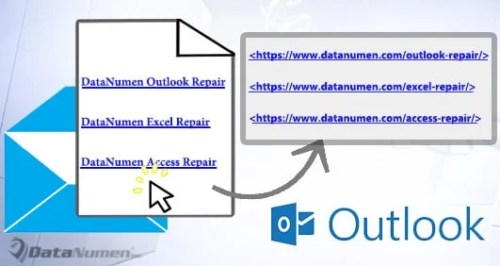 How to Extract & Show All Hyperlink Addresses in an Email via