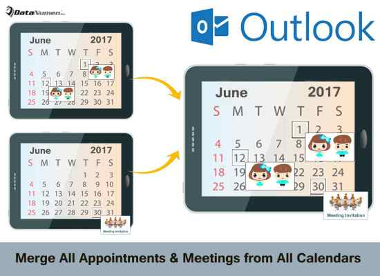 Merge All Appointments & Meetings from All Calendars with Outlook VBA