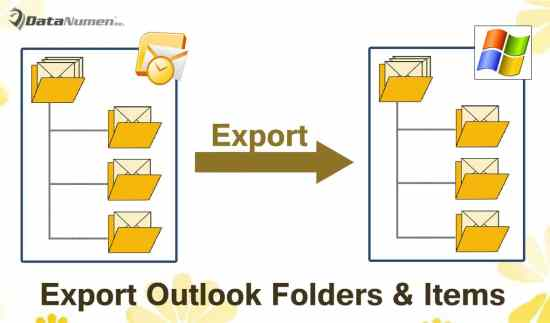 Quickly Export All Subfolders & Items in an Outlook Folder to a Windows Folder