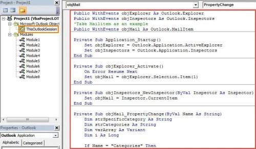 Access Vba Color Codes