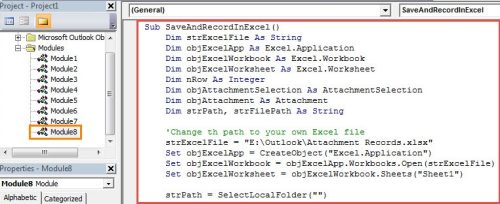 How to auto record file name path when saving email attachment in vba code auto record file name path when saving email attachment ibookread Download