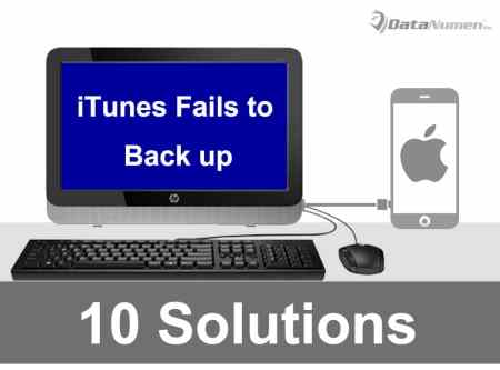 10 Solutions when iTunes Fails to Back up Your iPhone Data