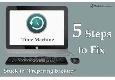 "5 Steps to Fix the Issue that Time Machine Is Stuck in ""Preparing backup"" on Mac System"