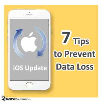 7 Important Tips to Prevent iPhone Data Loss during iOS Update