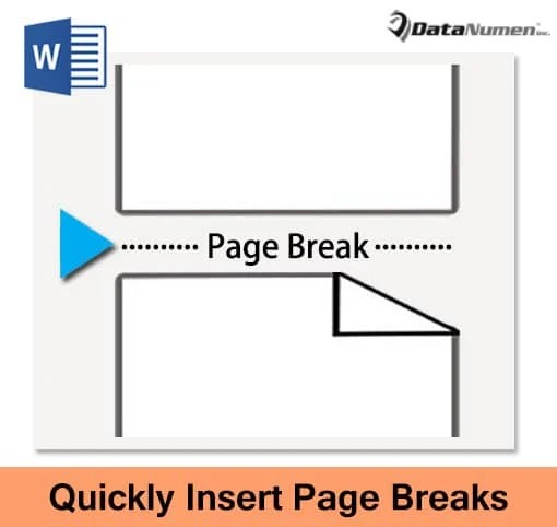 Insert Page Breaks into Your Word Document