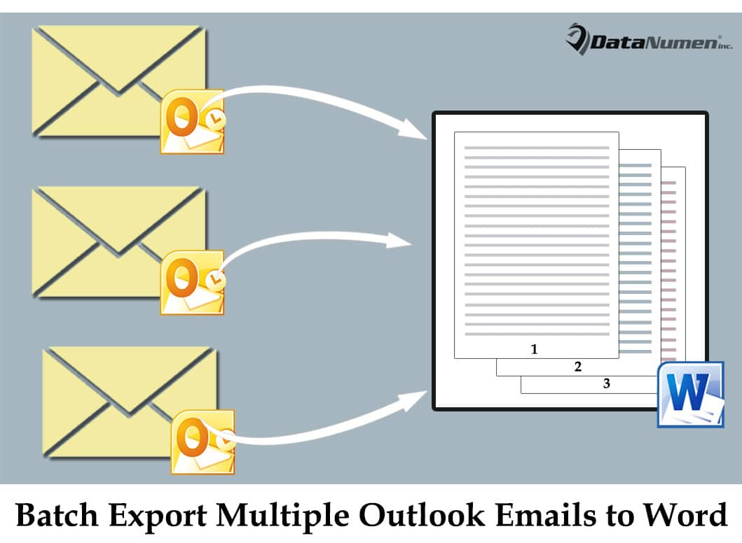 How to Batch Export Multiple Outlook Emails into One Word Document