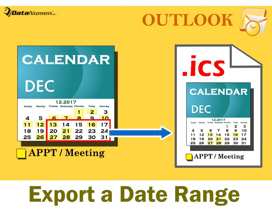 2 Methods to Export a Specific Date Range of Your Outlook
