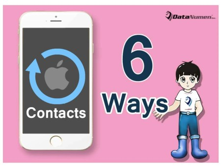 6 Effective Ways to Back up Your iPhone Contacts