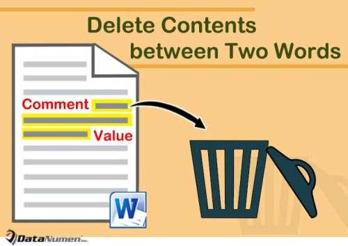 2 Smart Methods to Delete Contents between Two Specific
