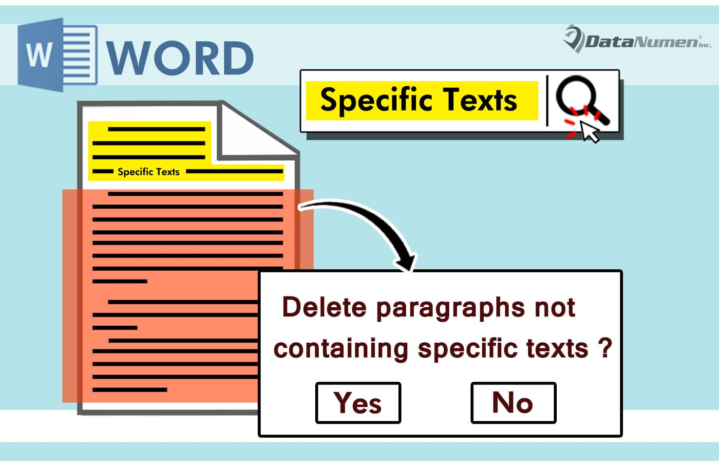 Delete Paragraphs Not Containing Specific Texts in Your Word Document
