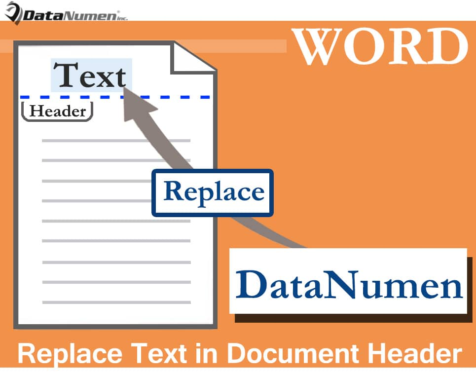 Replace Text in the Header of Your Word Document