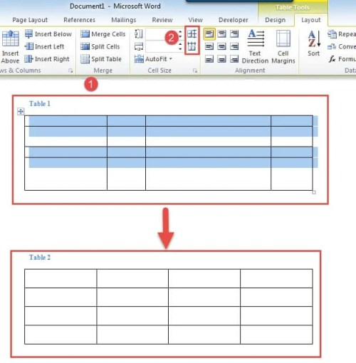 4 Effective Ways to Distribute Rows and Columns Evenly in