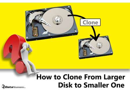 Clone Larger Hard Drive to Smaller One