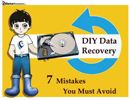 7 Mistakes You Must Avoid in DIY Data Recovery