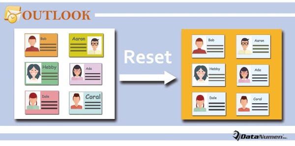Batch Reset the Styles of Multiple Contacts' Business Cards in Outlook