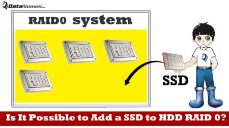 Is It Possible to Add a SSD to HDD RAID 0?
