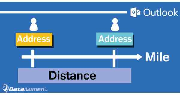 Quickly Get the Distance between Two Contacts' Addresses in Outlook