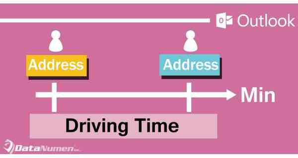 Quickly Get the Driving Time between Two Contacts' Addresses