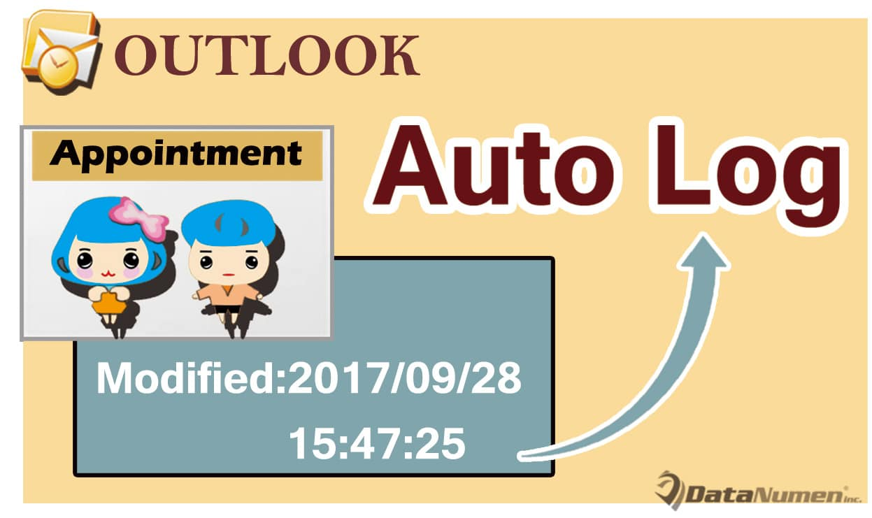 Auto Log the Modified Time when Changing an Outlook Appointment