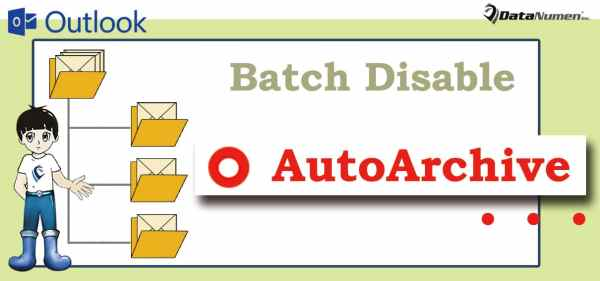 """Batch Disable """"AutoArchive"""" Option for All Outlook Folders"""