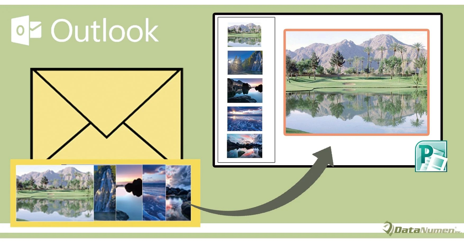 Quickly Export All Image Attachments of an Outlook Email to a PowerPoint Presentation