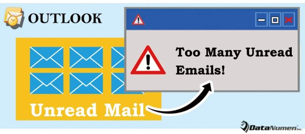 Get Warned If There Are Too Many Unread Emails in Your Outlook Inbox