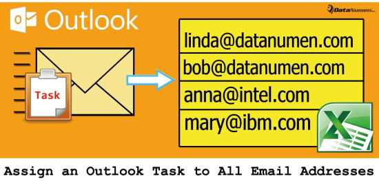 Quickly Assign an Outlook Task to All Email Addresses in an Excel File