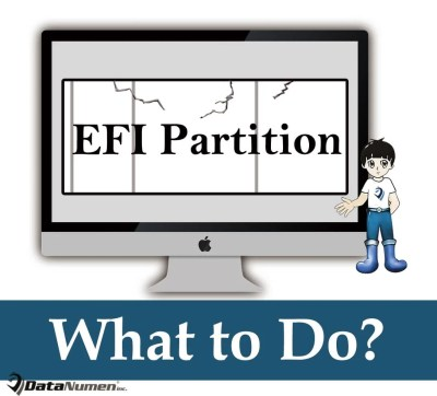 What to Do If EFI Partition Gets Corrupted on Mac System?