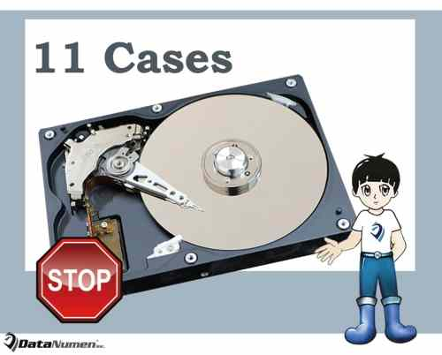 11 Most Common Cases where You Must Stop Using Hard Drive at Once