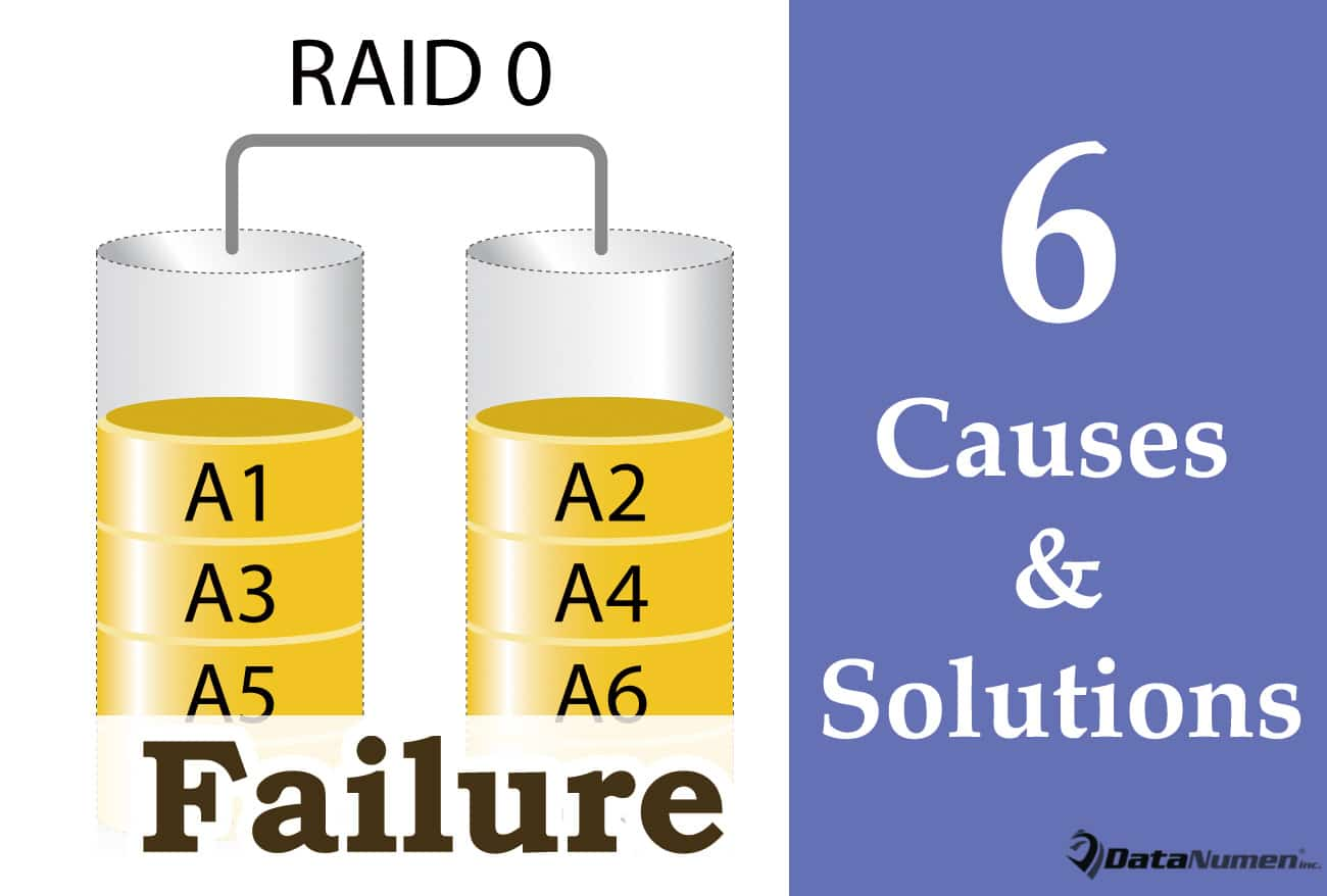 6 Most Common Causes and Solutions for RAID 0 Failures