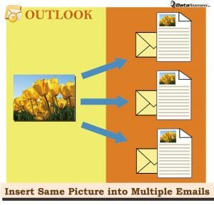 Batch Insert the Same Picture into Multiple Outlook Emails