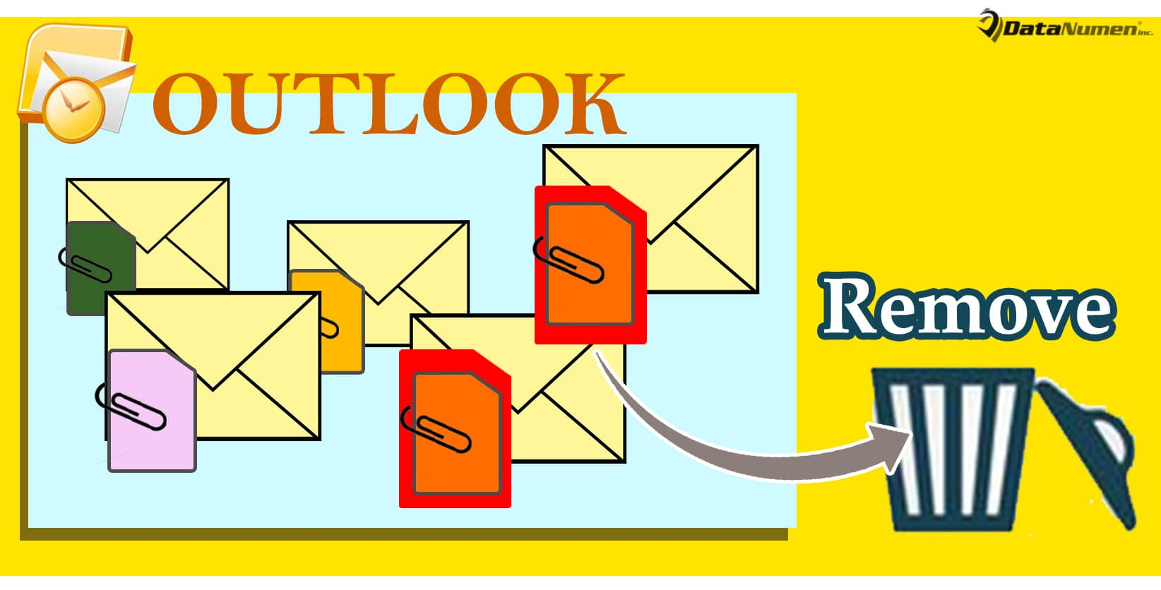 Batch Remove a Specific Type of Attachments from Multiple Outlook Emails