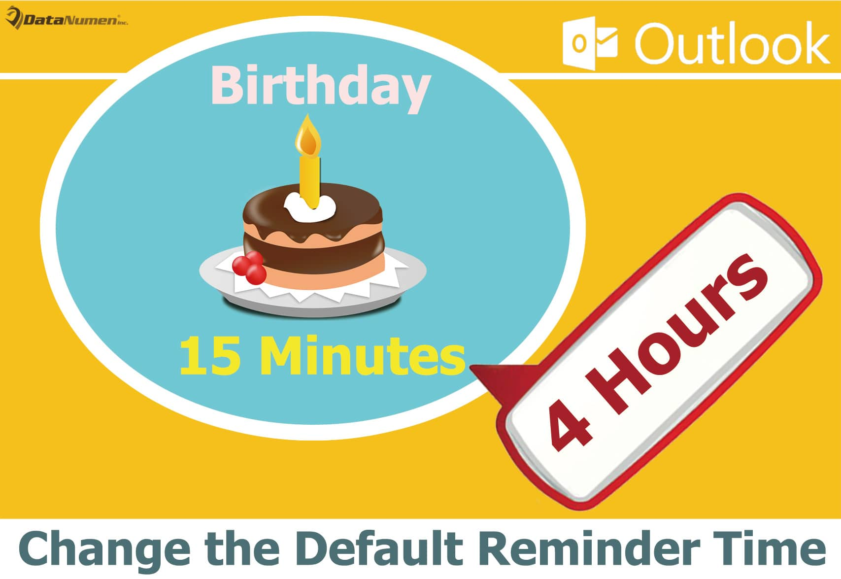 Change the Default Reminder Time for Birthday Events in Your Outlook