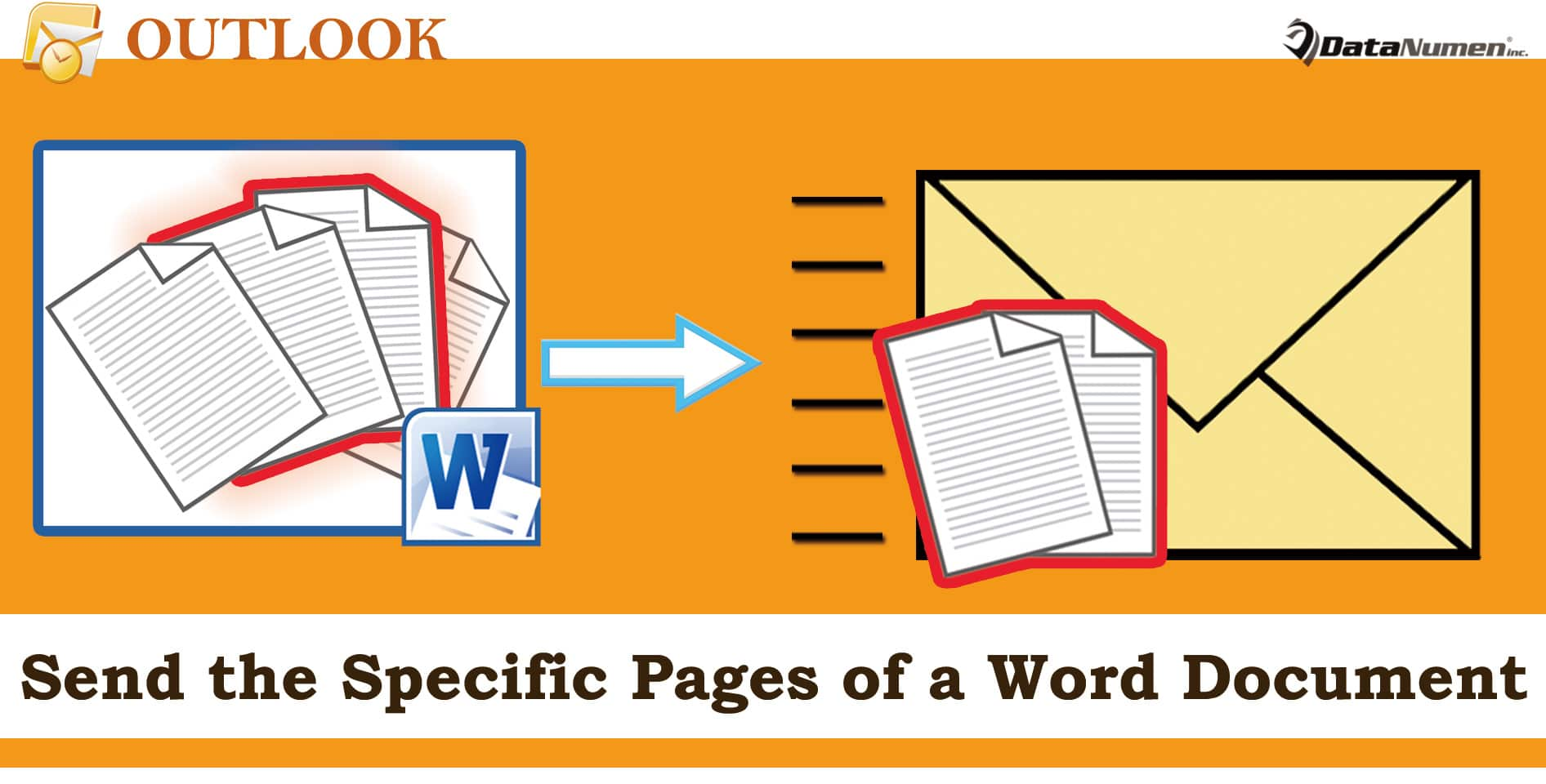 Send the Specific Pages of a Word Document as an Outlook Email