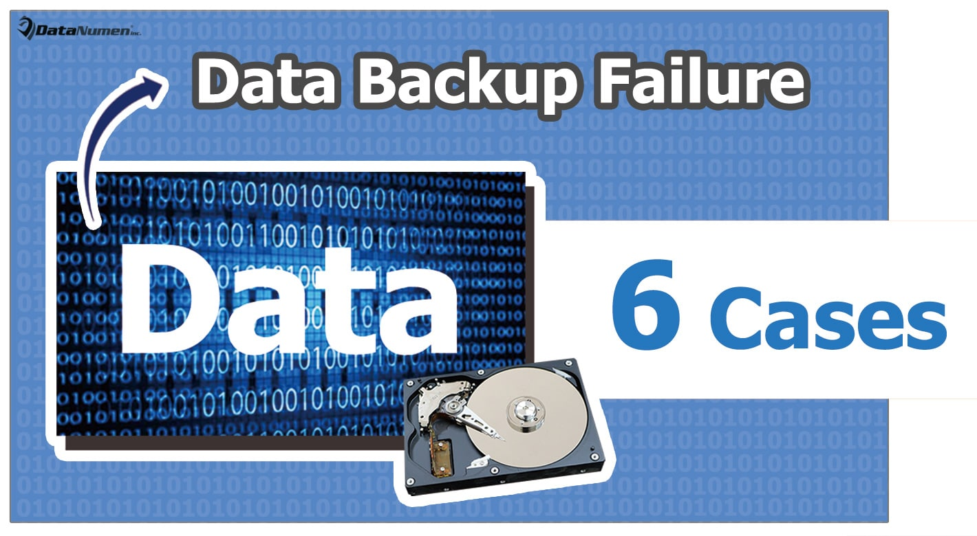 7 Most Common Cases when Data Backup Will Fail