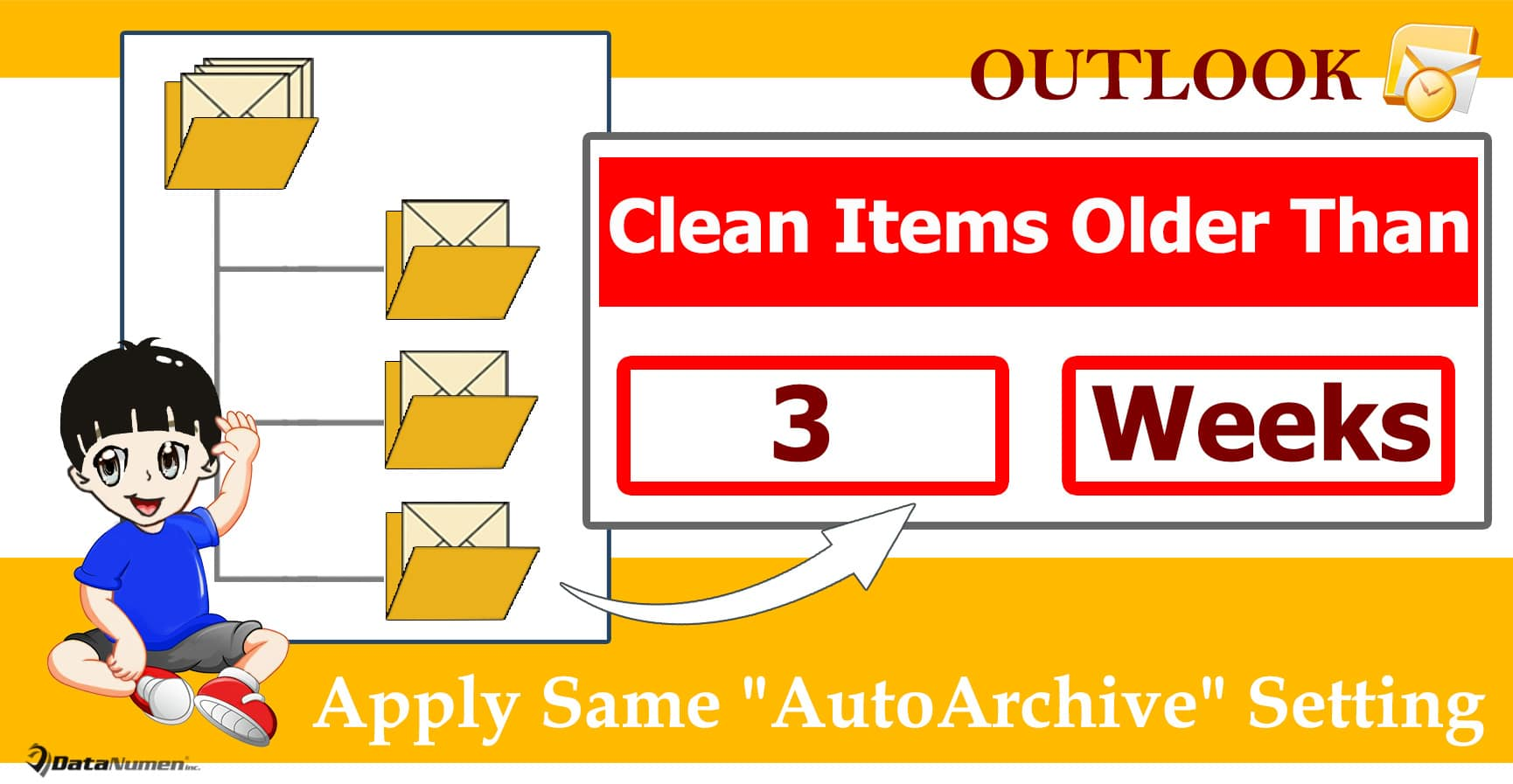 """Batch Apply Same """"AutoArchive"""" Setting to All Outlook Folders"""