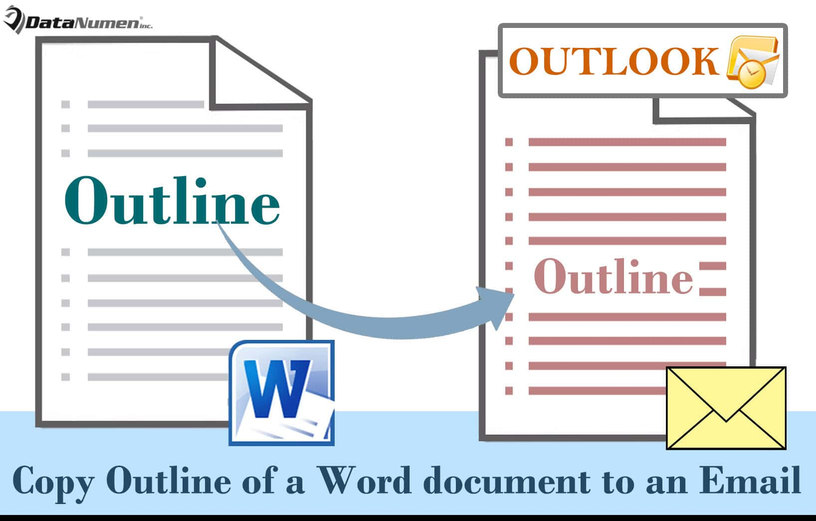 Quickly Copy the Outline of a Word Document to an Outlook Email
