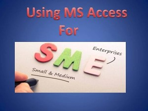 Reasons Why Small Businesses Should Choose MS Access