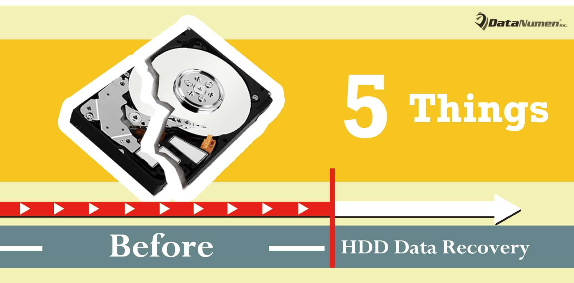 5 Vital Things You Must Do Before Hard Drive Data Recovery