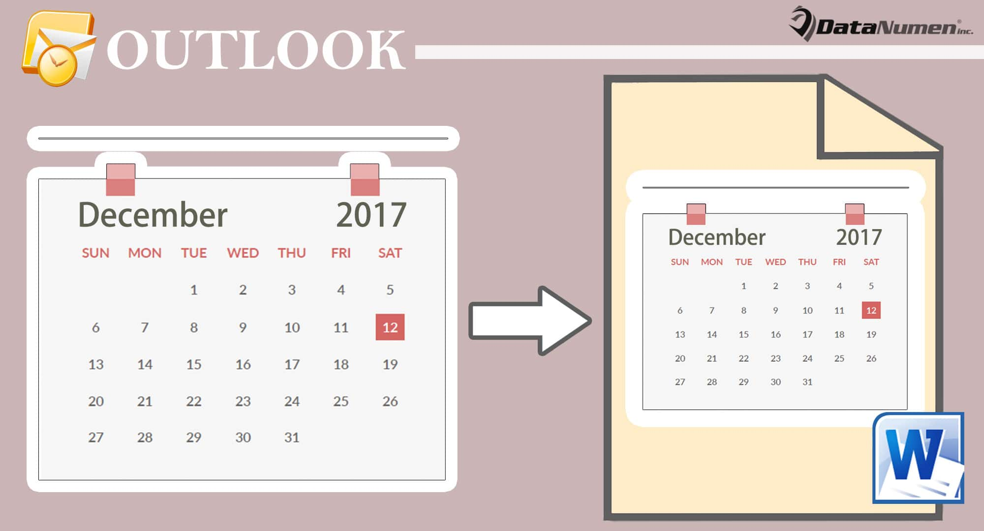 Export Your Outlook Calendar to a Word Document