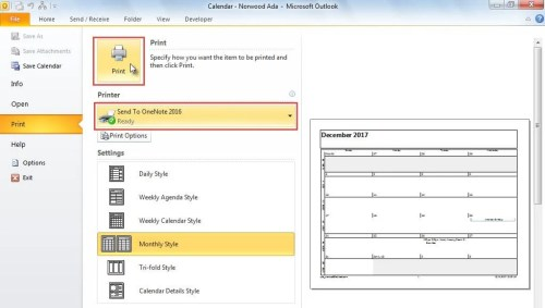 how to send word documents to onenote