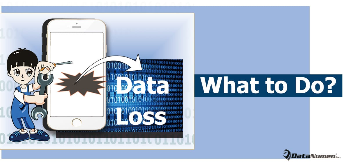 What Should You Do If Smartphone Data Get Lost?