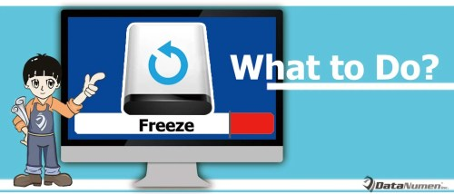 What to Do If Computer Freezes During Data Backup?
