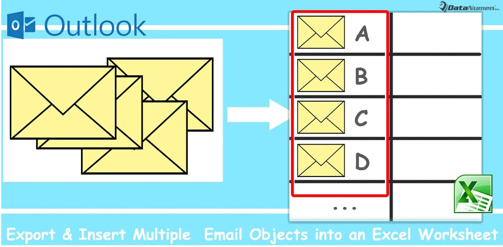How To Batch Export Amp Insert Multiple Outlook Email Objects Into An Excel Worksheet