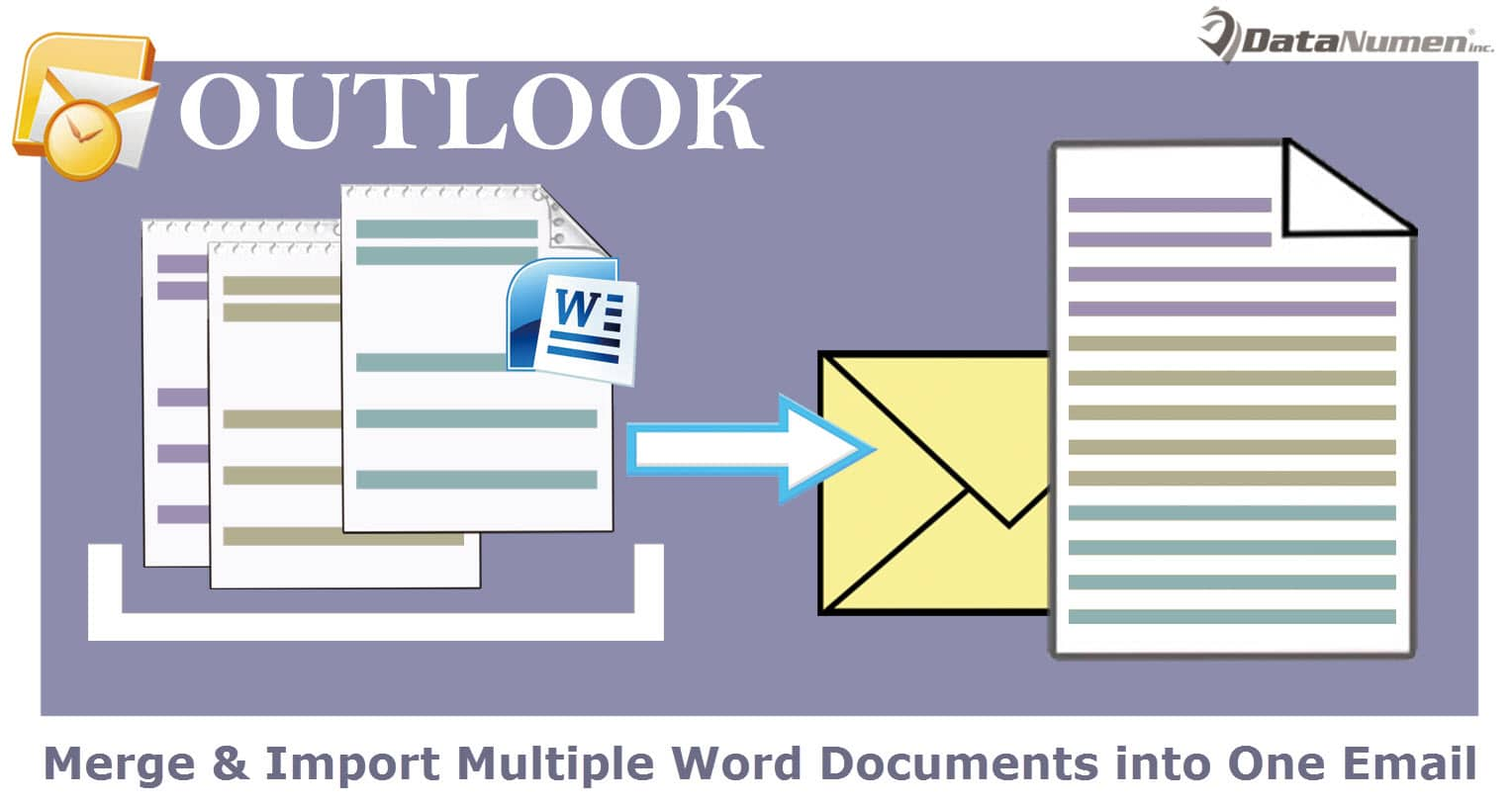 Quickly Merge & Import Multiple Word Documents into One Outlook Email