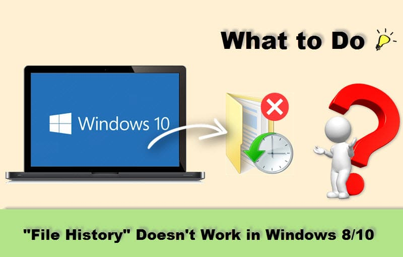 "What to Do if ""File History"" Doesn't Work in Windows 8/10?"