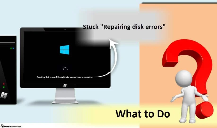 "What to Do on Stuck ""Repairing disk errors"" Issue in Windows 10?"