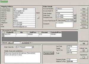 Billing And Invoicing System In MS Access